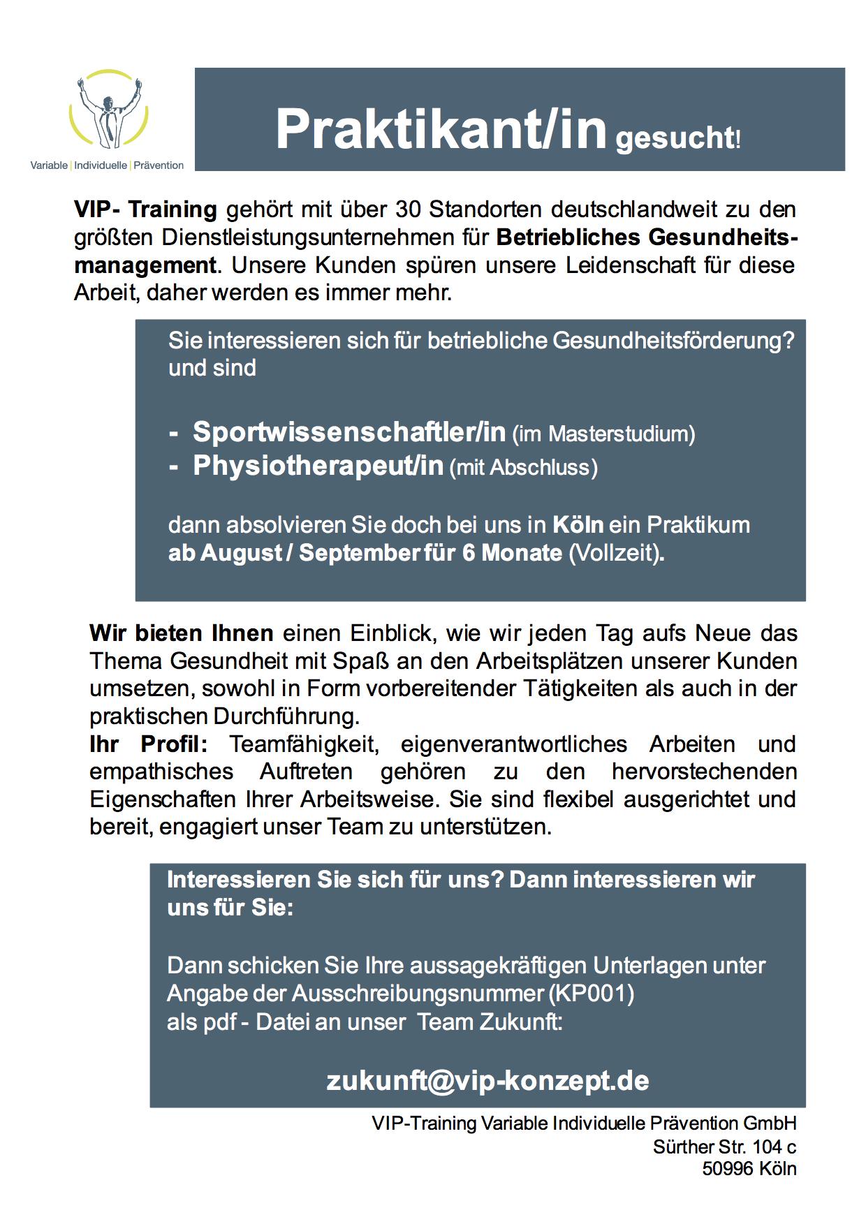 KP001_Aussschreibung Praktikumsstelle_koeln